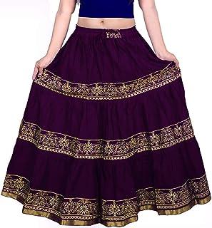 VOXVIDHAM Women Maxi Skirt