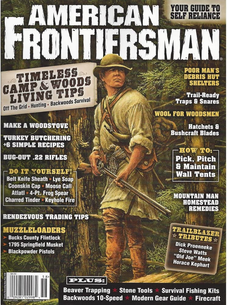 American Frontiersman 3 Fort Worth Mall Issues Save money Pack: Oldest