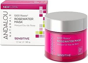 Andalou Naturals 1000 Roses Rosewater Mask, 1.7 Ounce