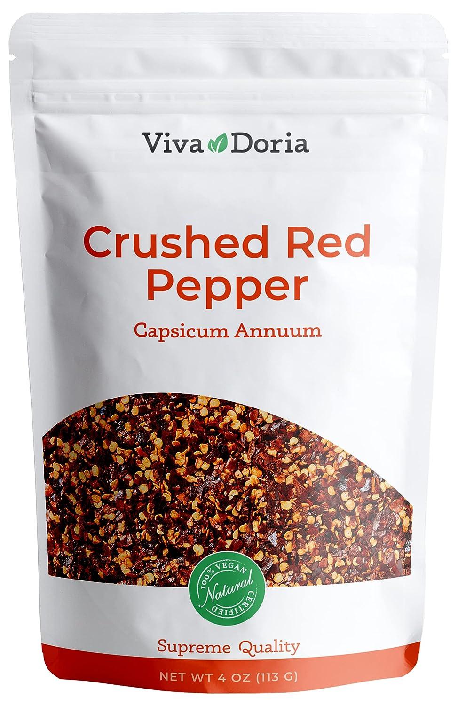 Viva New product!! Doria Crushed Red Chilli 4 Oz Pepper sale
