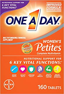 One A Day Women's Petites Multivitamin,Supplement with Vitamin A, Vitamin C, Vitamin D,..