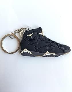 Jordan Retro 7 Golden Moments Sneaker Keychain Shoes Keyring AJ 23 OG