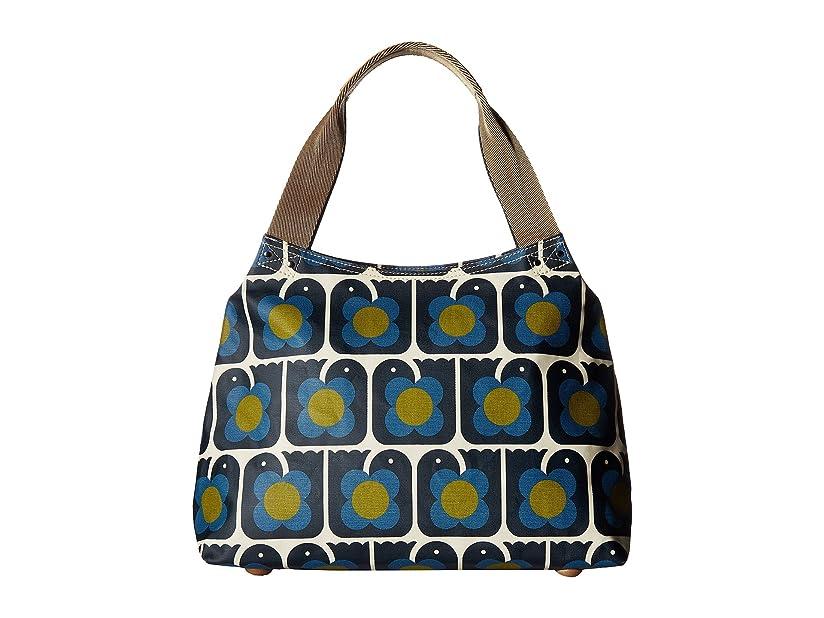 アラブバックグラウンドカビ[オーラ カイリー] Orla Kiely レディース Love Birds Print Classic Zip Shoulder Bag ハンドバッグ [並行輸入品]