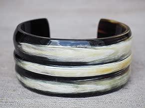 Natural Buffalo Horn Bracelet Cuff Jewelry