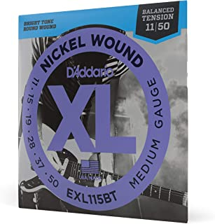 Daddario Exl115Bt Elektro Gitar Tel Seti, Xl, 11-50, Nickel Wound, B