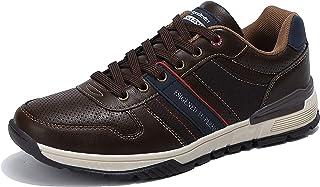 ARRIGO BELLO Freizeitschuhe Herren Sneaker Walkingschuhe Herrenschuhe Berufsschuhe Laufschuhe Atmungsaktiv Leichte Größe 4...