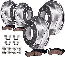 Front Brake Rotors Pads Ford F-450 Super Duty F-550 Super Duty Brakes Rotor Pad