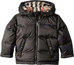 Burberry Kids Reversible Puffer with Hood (Infant/Toddler)