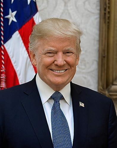 "Frame a Patent Donald J. Trump Photograph - Historical Artwork from 2017 - US President Portrait - (8"" x 10"") - Semi-..."