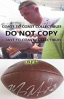 Marcus Mariota, Tennessee Titans, Oregon Ducks, signed, autographed, Football,proof COA