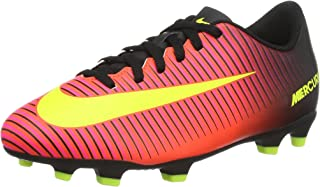 NIKE Jr Mercurial Vortex III FG (Total Crimson) (3 Little Kid M)