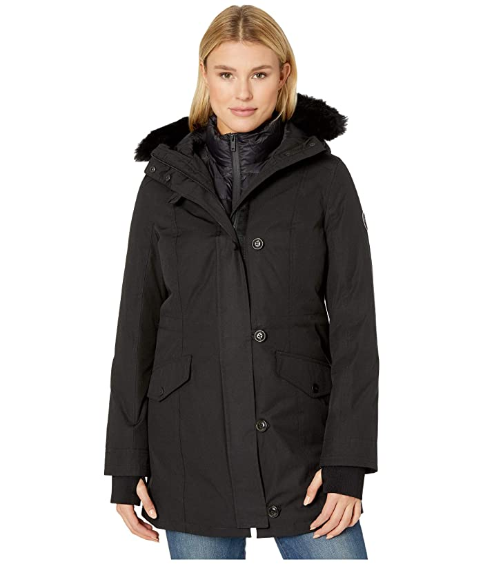 UGG  Adirondack Parka (Black) Womens Clothing