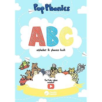 ABC Pop Phonics えいご ぬりえ アルファベット & フォニックスブック
