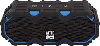 Altec Lansing IMW479-RYB Mini LifeJacket Jolt Everything Proof Rugged Bluetooth Speaker Waterproof & it Floats Pool Party Beach Camping Outdoor Snow, Black/Blue
