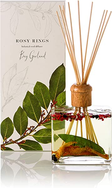 Rosy Rings Botanical Reed Diffuser Bay Garland