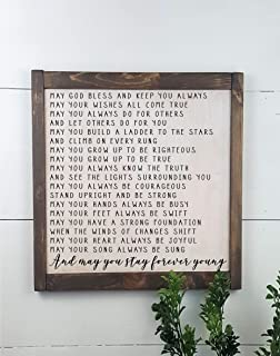 Best rustic wooden signs made to order Reviews