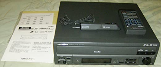 PIONEER CLD-V2600 LASERDISC PLAYER with REMOTE
