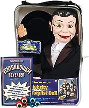 ThrowThings.com Bonus Bundle! Charlie McCarthy Ventriloquist Dummy Doll Plus Ventriloquism Revealed Booklet Plus Two Finger gEyes