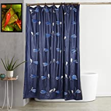 "Kuber Industries Panting PVC Shower Curtain - 54""x84"", Blue (CTKTC01562)"