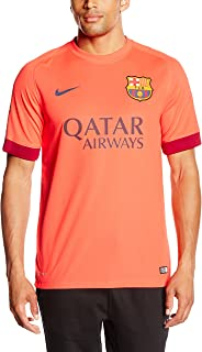 Nike FC Barcelona Away Stadium Jersey (Bright Crimson/Loyal Blue)