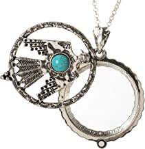 turquoise thunderbird pendant