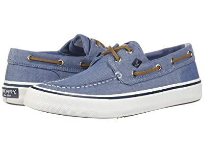 Sperry Bahama II Oxford Shirt Sneaker (Navy) Men