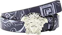 Printed Belt with Medusa Buckle (Big Kids)