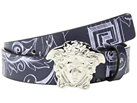 Printed Belt with Medusa Buckle (Big Kids)