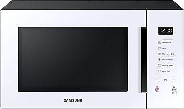 SAMSUNG - MG30T5018UW Microondas con Grill 30 L 900 W, Cerámica Enamel, Desodorización y Cocinado de Vapor, Color Blanco