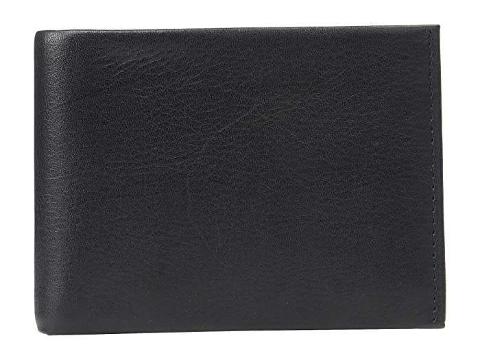 Perry Ellis Portfolio  RFID Smooth Passcase (Black) Wallet