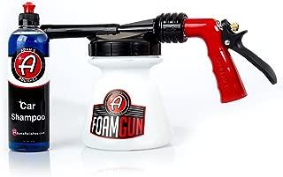 Adam's Standard Foam Gun - Produces Thick, Sudsy Foam for Car Washing - Use with Regular Garden Hose - Fun, Efficient Way to Foam Down Your Vehicle (Foam Gun & 16 oz Car Shampoo)