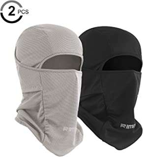 Ice Silk Balaclava UV Protection Windproof Dustproof Face Mask Breathable Skiing Cycling Hiking Mask for Men Women