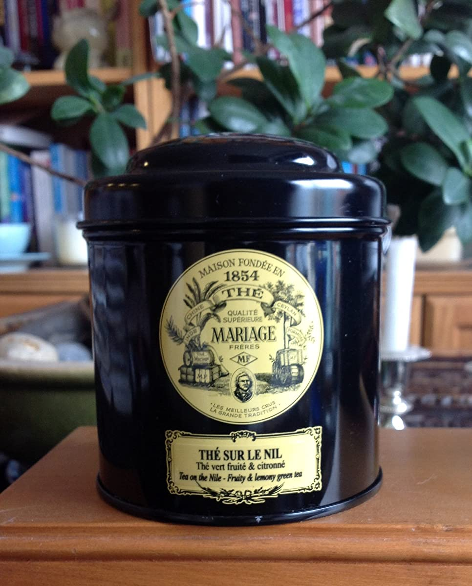 Mariage Frères - THé SUR LE NIL? - Black classical sealed 3.52oz / 100gr canister / tin