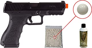 KWA ATP-LE Gas Blowback Airsoft Pistol with Included Elite Force Airsoft Green Gas Can and Wearable4U Pack of 1000 6mm 0.20g BBS Bundle