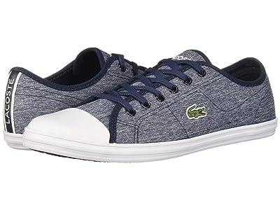 Lacoste Ziane Sneaker 319 1 (Navy/White) Women