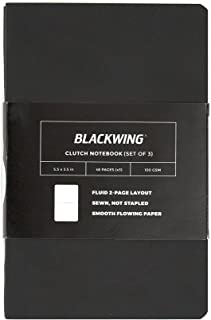 Blackwing Clutch Journal, Black Softcover Notebook, 48 pg. (Dot Grid)
