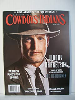 Cowboys & Indians Magazine (April, 2019) Woody Harrelson Cover