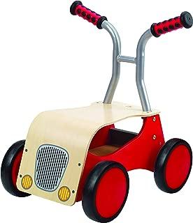 Award Winning Hape Little Red Rider Wooden Kid's Ride on Bike