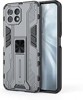 Xiaomi Mi 11 Lite (Mi 11 Lite) Super Sonic Shockproof Protection Case with Kickstand - (Gray)