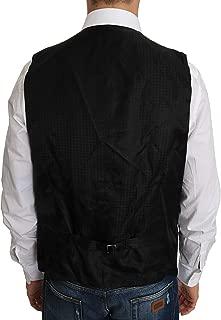 Black Wool Dress Waistcoat