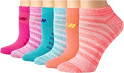 N032 Lifestyle No Show Socks 6-Pair Pack
