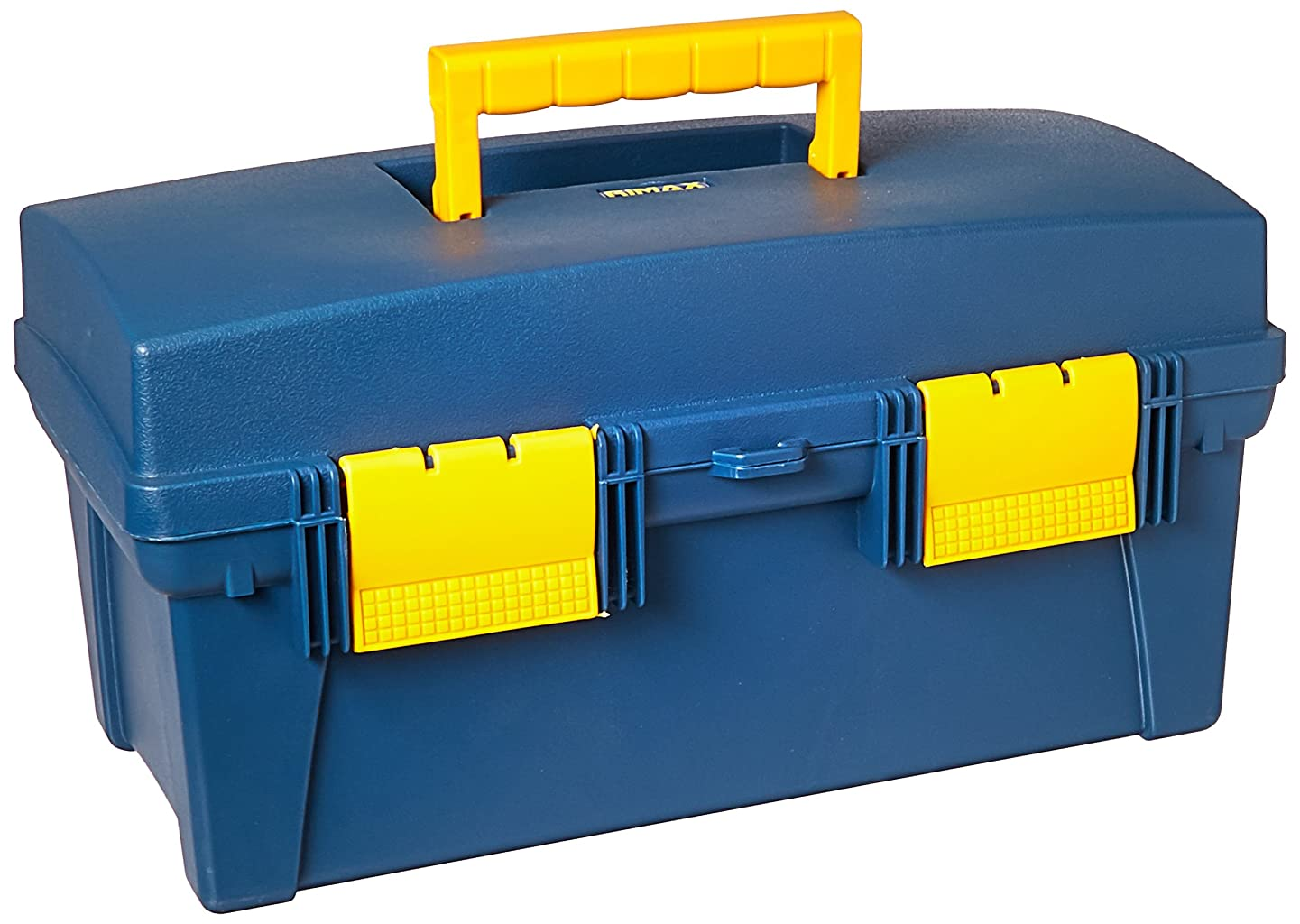 Pro Art 16-Inch by 8-1/2-Inch by 8-1/2-Inch Storage Box, Blue and Yellow