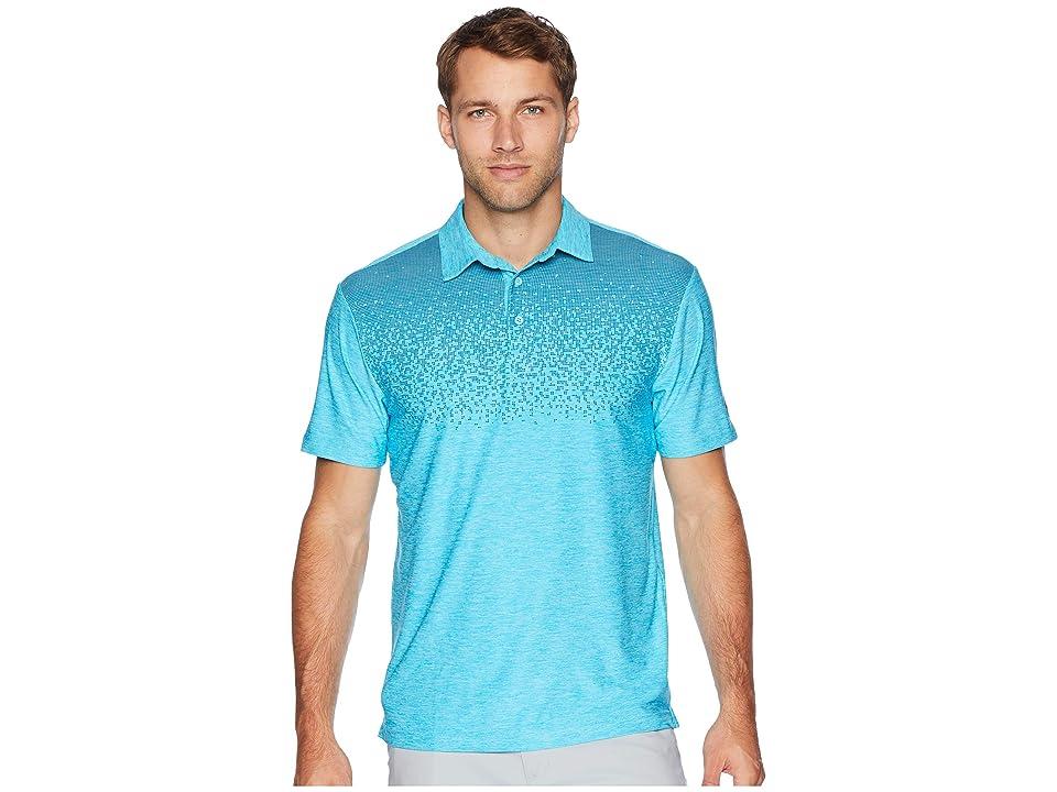 Under Armour Golf UA Playoff Polo (Venetian Blue/Static Blue/Static Blue) Men