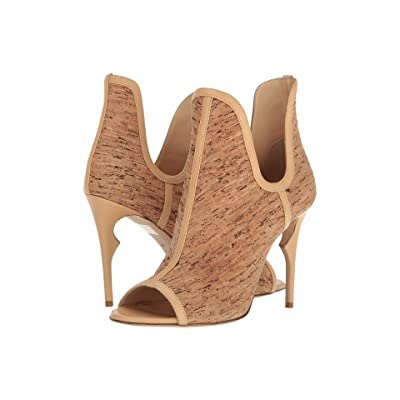 Jerome C. Rousseau Jujo Cork Bootie (Natural Cork/Nappa) High Heels