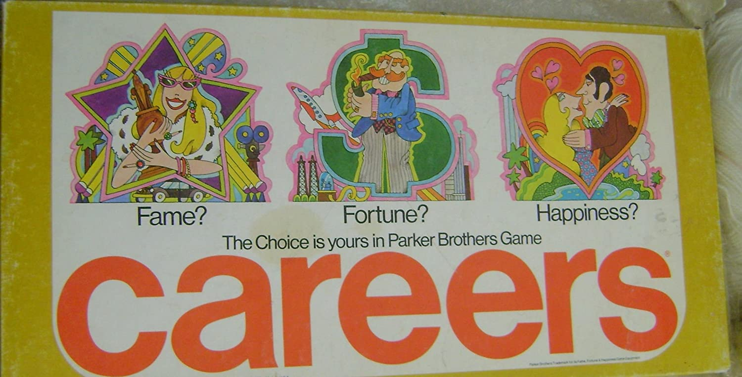 Careers Board Game 1976 Edition by Careers Board Game 1976 Edition