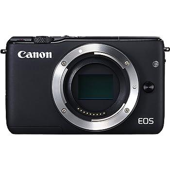 Canon ミラーレス一眼カメラ EOS M10 ボディ(ブラック) EOSM10BK-BODY