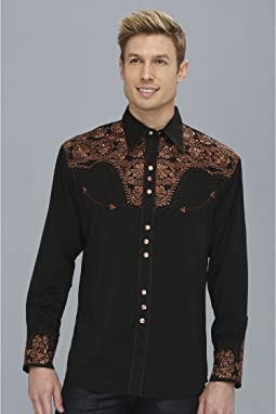 Floral Tooled Shirt