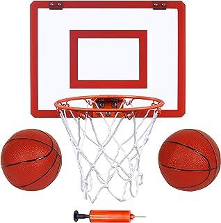 "Indoor Mini Basketball Hoop and Balls 16 ""x12 - Basketball Hoop for Door Set - Indoor Mini Basketball Game for Kids"