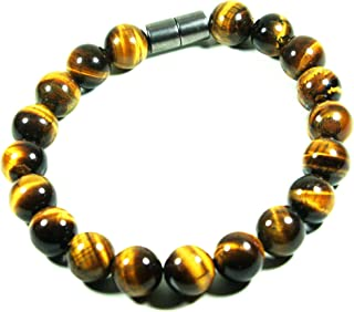 Auras by Osiris Triple Protection Bracelets - Anxiety Bracelets - Beaded Bracelets - Gemstone Bracelets for Men/Women