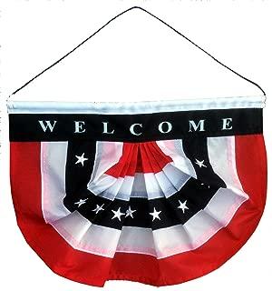 GiftWrap Etc. Patriotic Welcome Sign Front Door - 10